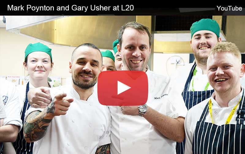 Mark Poynton and Gary Usher at L20
